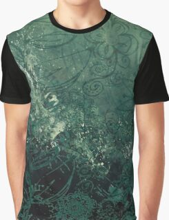A swirl of vintage green Graphic T-Shirt