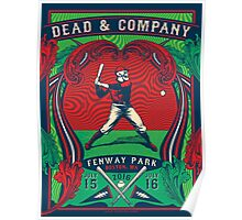 DEAD AND COMPANY SUMMER TOUR 2016 FENWAY PARK-BOSTON,MA Poster