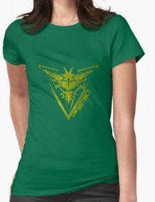 yellow team INSTINCT Womens Fitted T-Shirt
