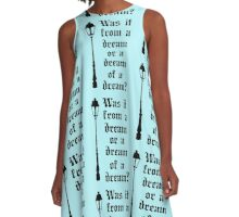 Through the Closet A-Line Dress