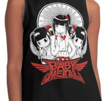 Baby Metal Cartoon Contrast Tank