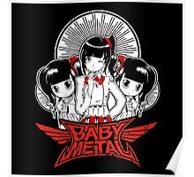 Baby Metal Cartoon Poster