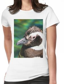 Penguin Pop Womens Fitted T-Shirt