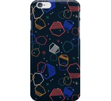 Cosmic Shapes by Andrea Lauren iPhone Case/Skin