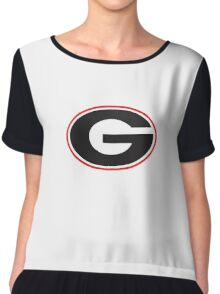 Georgia Bulldogs - UGA - University of Georgia Chiffon Top