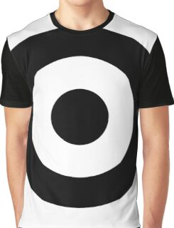 Black and white target Graphic T-Shirt