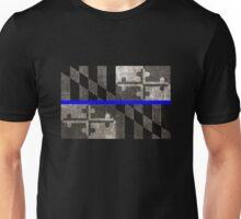 Maryland Thin Blue Line Unisex T-Shirt