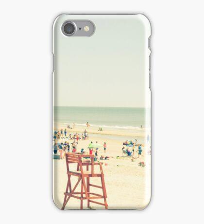 Summer Beach People iPhone Case/Skin