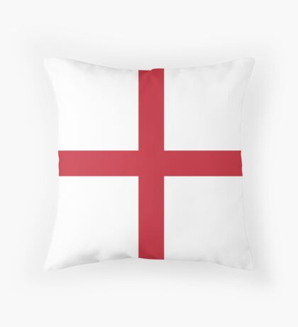 St George's Cross Throw Pillow