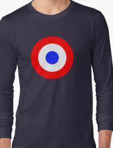 Red and blue target Long Sleeve T-Shirt