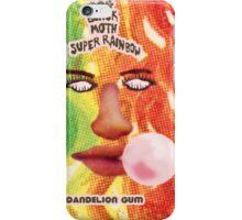 BLACK MOTH SUPER RAINBOW - DANDELION GUM iPhone Case/Skin