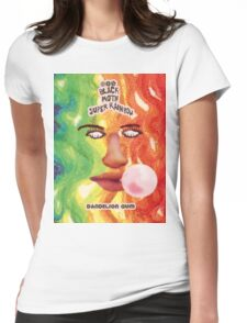 BLACK MOTH SUPER RAINBOW - DANDELION GUM Womens Fitted T-Shirt