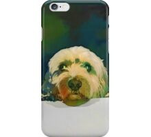 Peeping Puppy iPhone Case/Skin