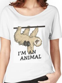 I'm an animal Women's Relaxed Fit T-Shirt