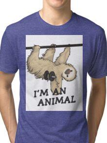 I'm an animal Tri-blend T-Shirt