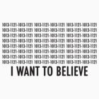 I want to believe 1013 by Elowrey