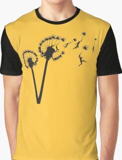 Dandylion Flight Graphic T-Shirt