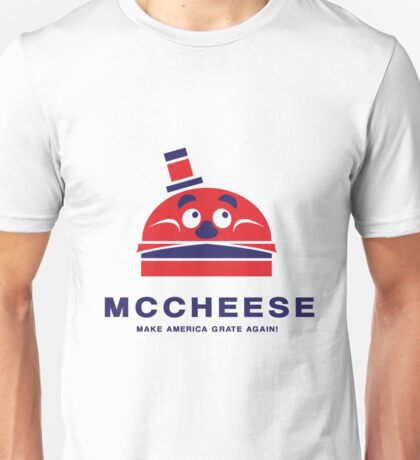 MCCHEESE FOR PRESIDENT 2016 Unisex T-Shirt