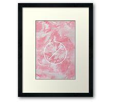 she/her Framed Print