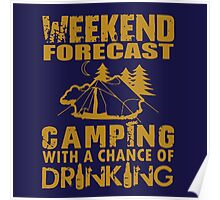 Weekend Forecast Poster
