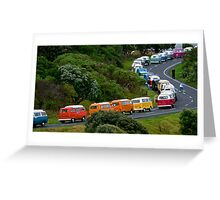 VW Convoy Greeting Card