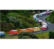 VW Convoy Photographic Print