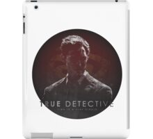 Time is a Flat Circle True Detective iPad Case/Skin