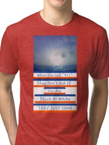 Rudy Giuliani Quote Tri-blend T-Shirt