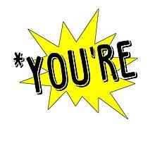 *You're Pow Design by Isabella Mendiola