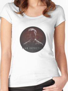 Time is a Flat Circle True Detective Women's Fitted Scoop T-Shirt