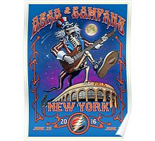 DEAD AND COMPANY SUMMER TOUR 2016 CITI FIELD - NEW YORK Poster