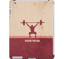Believe you can - Business Quote iPad Case/Skin