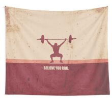 Believe you can - Business Quote Wall Tapestry
