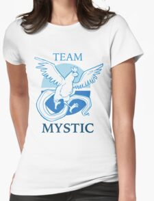 PKMNGO TEAM Mystic Alliance! Womens Fitted T-Shirt