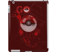 Pokemon Go Map Logo iPad Case/Skin