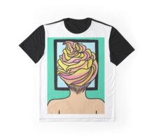 Icing Hair in Mirror  Graphic T-Shirt