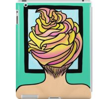 Icing Hair in Mirror  iPad Case/Skin