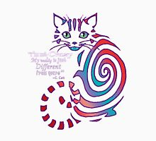 Cheshire Cat 'just different'  Unisex T-Shirt