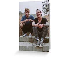 Kian and Jc Greeting Card