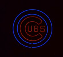 Cubs Neon Sign by Kadwell