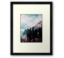 The Juxtaposed Creation #redbubble #lifetsyle Framed Print