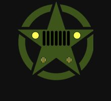 Off-Road Star: Army Green Classic T-Shirt