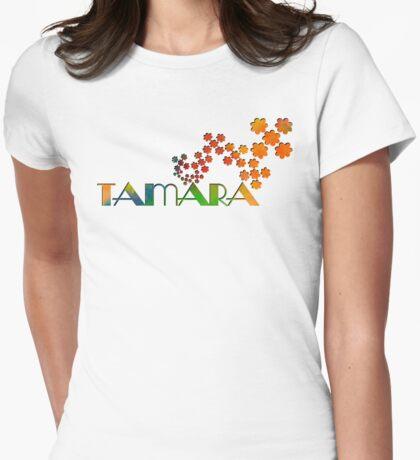 The Name Game - Tamara Womens Fitted T-Shirt