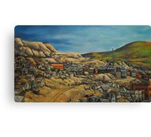 Panoramic~Early Victor Colorado~Painting~early 1900's~late 1800's Canvas Print