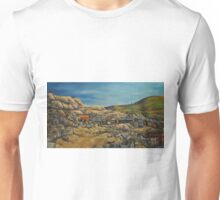 Panoramic~Early Victor Colorado~Painting~early 1900's~late 1800's Unisex T-Shirt