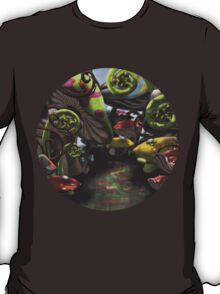 Wonderland Toadstool and Fern Forest T-Shirt