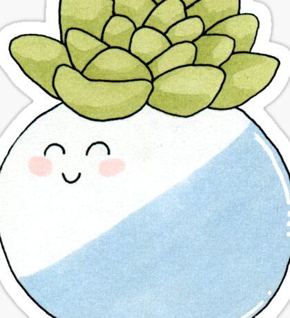 Cute Succulent II Sticker