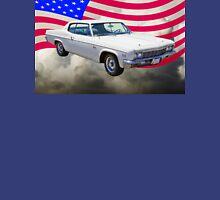 1966 Chevrolet Caprice 427 With United States Flag Unisex T-Shirt