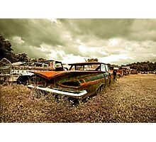 Abandoned 1959 Chevy Impala Photographic Print