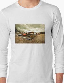 Abandoned 1959 Chevy Impala Long Sleeve T-Shirt